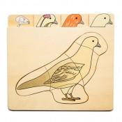 Puzzle holub
