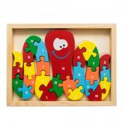 Múdra chobotnička - puzzle