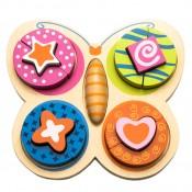 Motýlik-spoznávanie tvarov