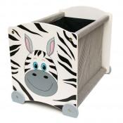 Debnička na hračky Zebra