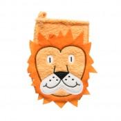 Rukavica na kúpanie lev
